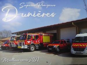 Dunières : c'est au tour des pompiers de distribuer les calendriers