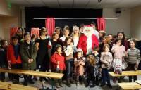Le Père Noël en visite à Champclause