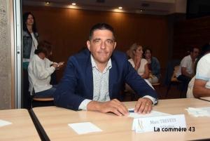 Marc Treveys, maire des Villettes