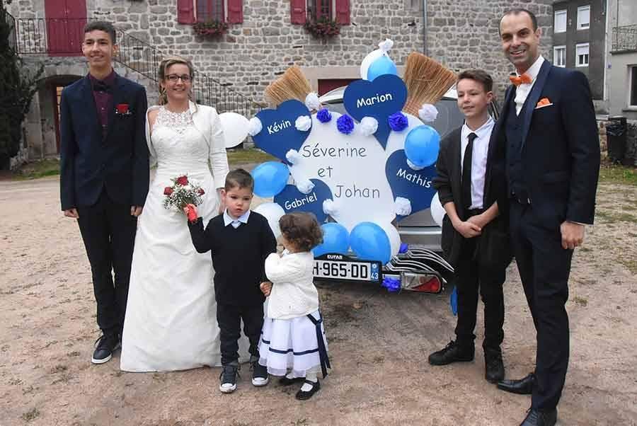 Carnet blanc : Séverine et Johan à Saint-Maurice-de-Lignon