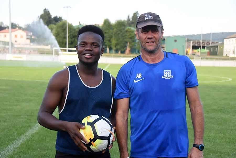 Karamo Condé et Eric Pètre.