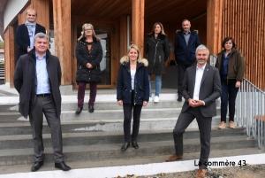 Des 8 candidats de Haute-Loire, seul Laurent Mirmand (au fond à droite), n'est pas élu