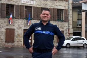 Bas-en-Basset : le policier municipal a pris ses fonctions