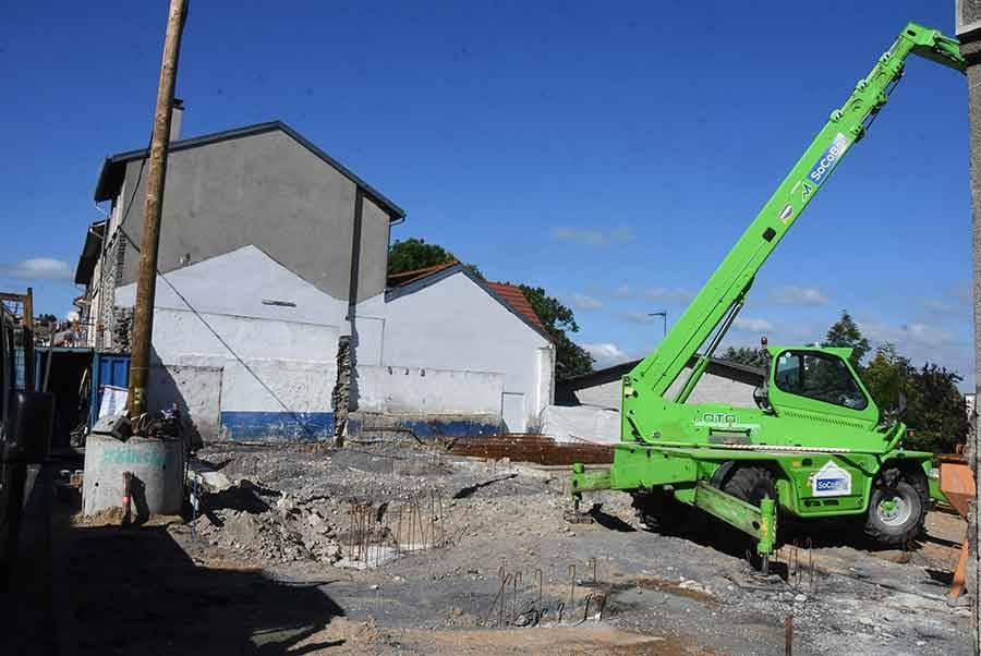 Yssingeaux : la résidence de la Croix-Rouge en cours de construction avenue de la Marne