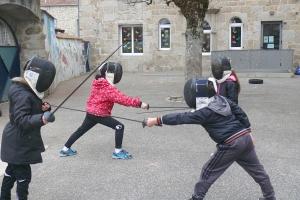 Grazac : les écoliers ont appris l'escrime et ses valeurs