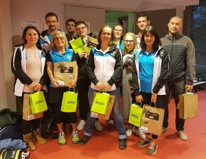 Badmindon : une moisson de médailles pour l'Emblavez à Brioude