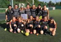 Dunières : les jeunes footballeuses 13e aux championnats de France