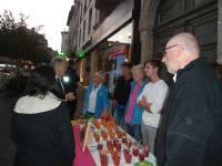 Le préfet de la Haute-Loire ainsi que le directeur de cabinet de la préfecture sont venus soutenir et encourager les organisateurs