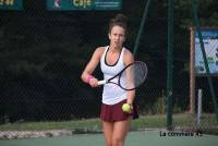 Charlène Favier a perdu en demi-finale jeudi matin.