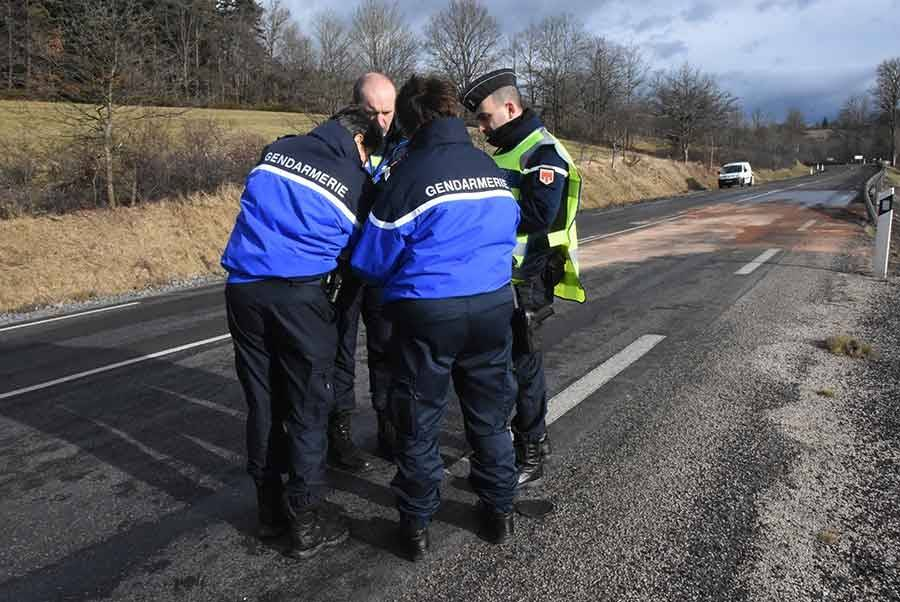 Accident mortel sur la RN88, en Haute-Loire ce matin