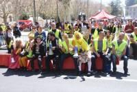 Les Gilets jaunes en spectateurs privilégiés des 15 km du Puy