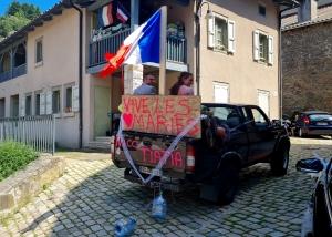 Chamalières-sur-Loire : Nicolas et Laetitia se sont dit oui