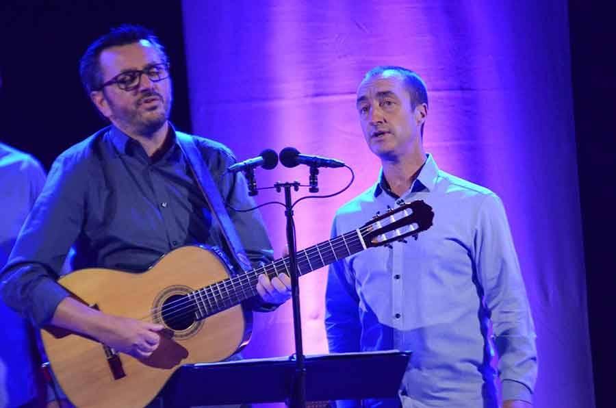 Maxime Merlandi et Jean-Pierre Marchetti