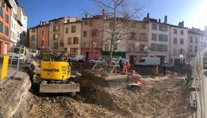 Puy-en-Velay : des fouilles archéologiques pour mieux connaître l'histoire de la place du Marché couvert