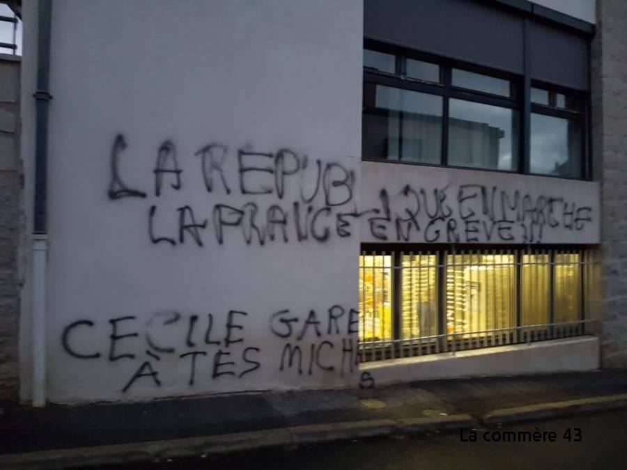Vorey-sur-Arzon : Cécile Gallien reçoit plusieurs soutiens