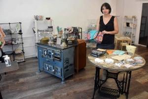 Saint-Didier-en-Velay : Mymy tout plein ouvre samedi son atelier-boutique