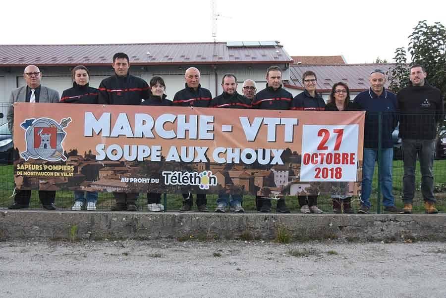 Montfaucon-en-Velay : la randonnée et la soupe aux choux de retour pour le Téléthon