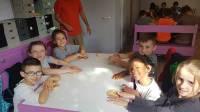 Des apprentis boulangers à l'école Sainte-Thérèse de Vorey-sur-Arzon