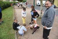 Retournac : les enfants du centre de loisirs du Cros initiés à la pétanque
