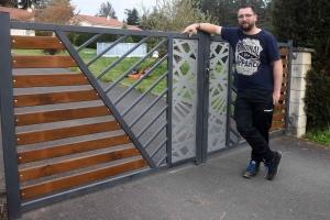 Lapte : Sébastien Gerenton crée SG Métal, une entreprise de métallerie et chaudronnerie
