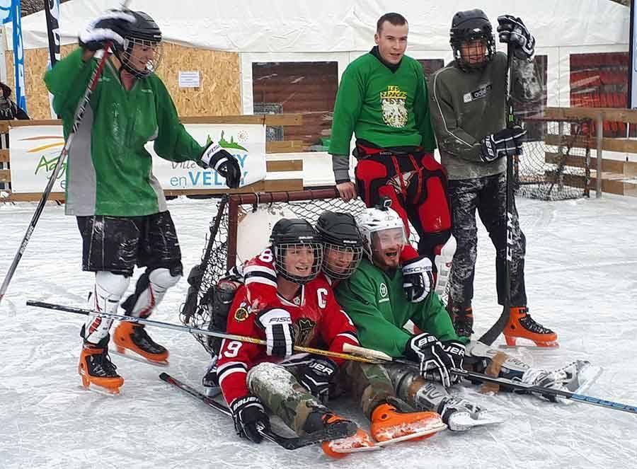 Puy-en-Velay : un match de hockey sur glace samedi matin sur la patinoire