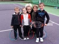 Retournac : quatre enfants intègrent l'école de tennis