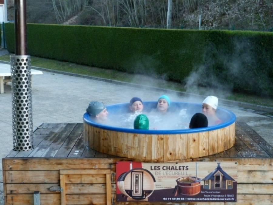 Dunières : bain norvégien et parcours aventure à la piscine intercommunale