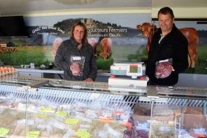 Bas-en-Basset : Florence et Jérôme Dousson cherchent à écouler leur viande
