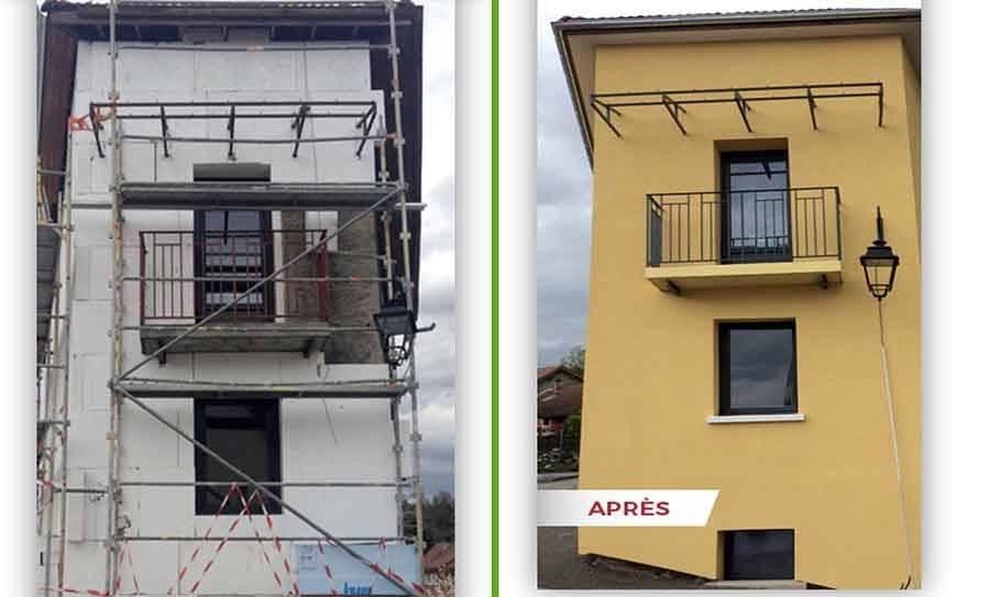 Offrez un coup de soleil sur vos façades grâce à Bâti Group 43