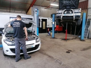 Saint-Julien-du-Pinet : David Tissot est prêt pour l'ouverture de son garage automobile