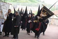 Les pénitents de Perpignan aiment le noir. Photo Lucien Soyere