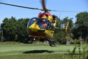 Hélicoptère Dragon 63 transféré en Lozère pour l'été : une décision qui ne passe pas