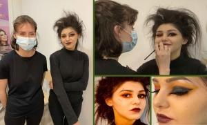 Etudiante en maquillage, Léann Moret se qualifie pour la finale du concours Make Up For Ever