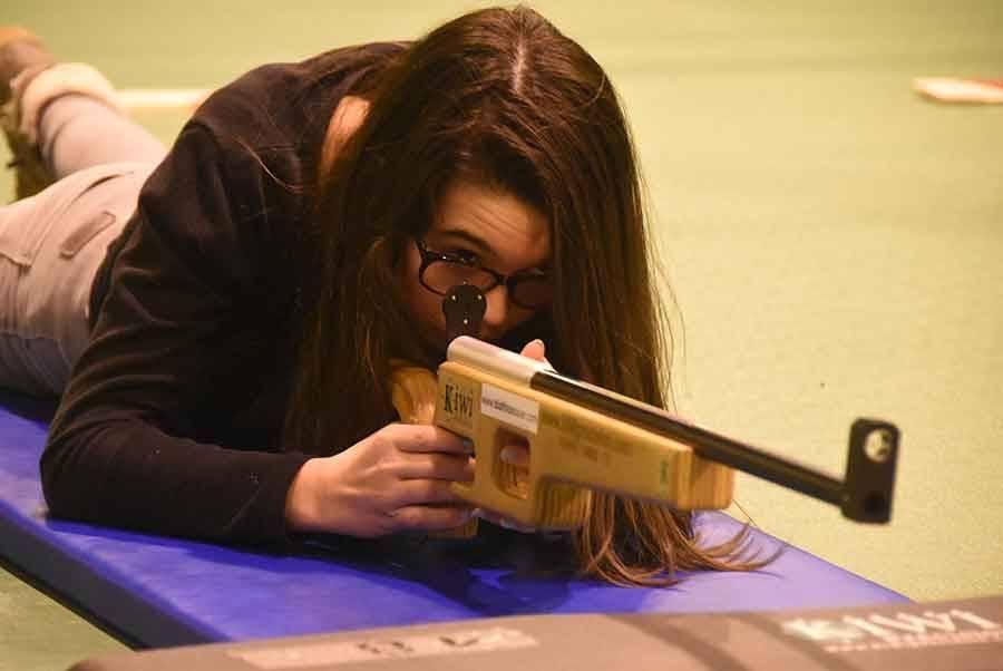 Le Chambon-sur-Lignon : les archers troquent l'arc pour une carabine laser