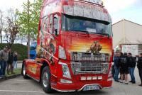 Monistrol-sur-Loire : beaux comme des camions décorés