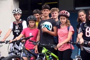 Monistrol-sur-Loire : du run and bike jusqu'à Lavalette pour 35 lycéens