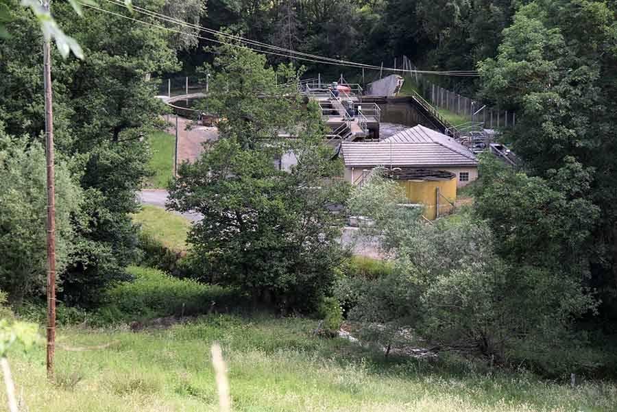 La station actuelle.