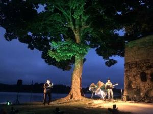 Les Lectures sous l'arbre ont mis le feu au lac de Devesset