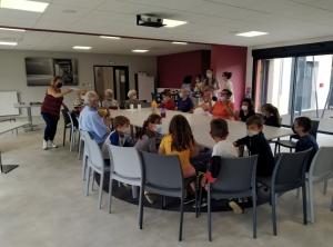 Tence : des enfants accueillis à la résidence Les Jardins du Lignon