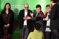 Lors de la remise des Prix Chow Tai Fook Window Display Art & Design Award.