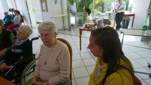 Chambon-sur-Lignon : des étudiants du haut Doubs rencontrent les résidents des Genêts