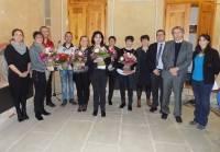 Le Puy-en-Velay : dix médailles du travail au centre national Pajemploi