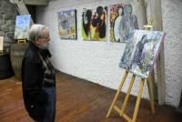 """L'artiste Cathy Gagnaire vous conte des histoires à """"Versilhac"""""""