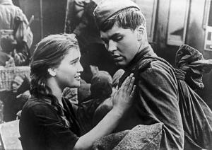 """La Ballade du soldat"", film d'amour de Grigori Tchoukhraï"
