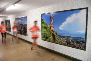Quand les coureurs jouent les touristes sur le Puy Urban Trail (photos)