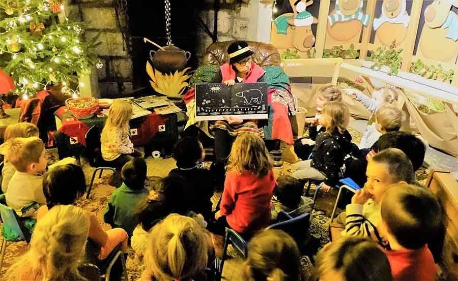 Chambon-sur-Lignon : la Maison du Père Noël fait du rab pour les écoliers