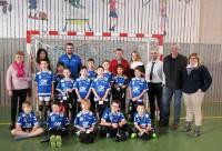 Saint-Germain-Laprade : de nouvelles tenues pour les jeunes handballeurs
