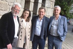 Alain Déléage, Aziza Gril-Mariotte, Patrick Raynal, Jean-Luc Michaux.