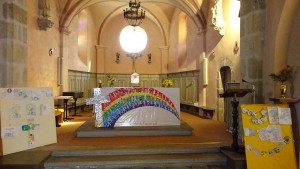Saint-Romain-Lachalm : une célébration de Pâques avec les enfants et les familles