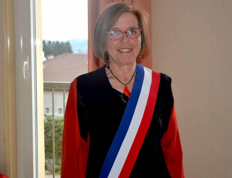 Madeleine Chabanolle, maire de Saint-Didier-en-Velay.